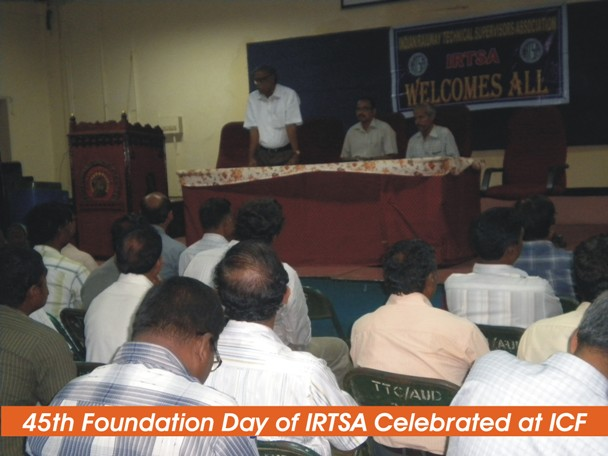 45th Foundation day of IRTSA celebrated at ICF
