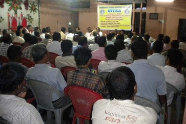Struggle Committee Meeting of ICF & S.Rly Zones of IRTSA