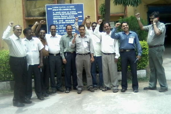 Printing Press Secunderabad Engineers observed Protest day on 27-06-12 Guided by Ers Dayananda,Venkatesh, Khaleed