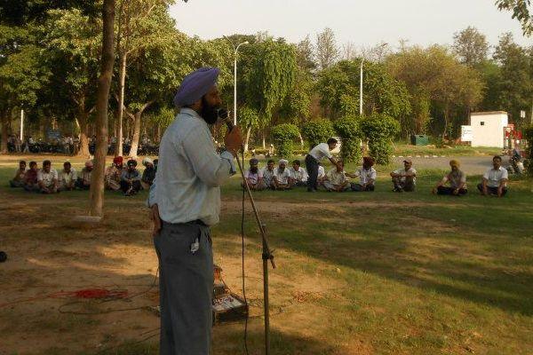 IRTSA Mass Fast and Demonstration on 27th July, 2012 at RCF, Kapurthala